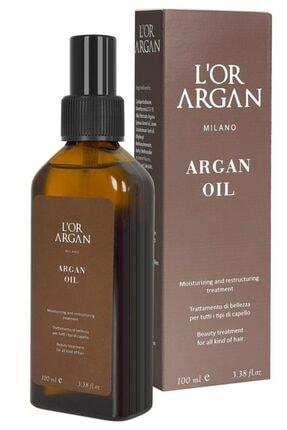 L'Or Argan Milano Aşırı Yıpranmış Saçlar Için Nemlendirici Onarıcı Argan Bakım Yağı 100ml 3