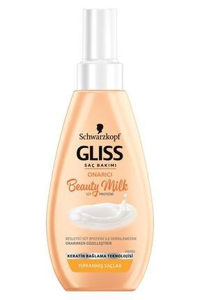 Gliss Schwarzkopf Gliss Beauty Milk-Onarici Bakim Sütü 150 Ml 1