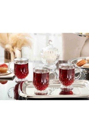 Madame Coco Miquel 4'lü Çay Fincanı 1