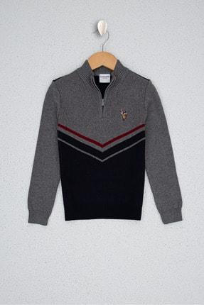 US Polo Assn Lacivert Erkek Çocuk Triko Kazak 0
