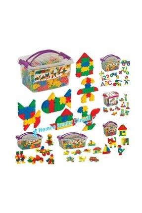 Dede Oyuncak 500 Parça Tik Tak Lego Çıtçıt Lego Seti 1