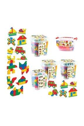 Dede Oyuncak 500 Parça Tik Tak Lego Çıtçıt Lego Seti 2