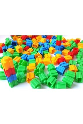 Dede Oyuncak 500 Parça Tik Tak Lego Çıtçıt Lego Seti 4