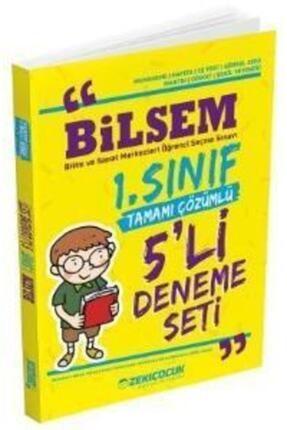 Zeki Çocuk Yayınları Zekiçocuk Bilsem 1. Sınıf Tamamı Çözümlü 5 Li Deneme Seti 0