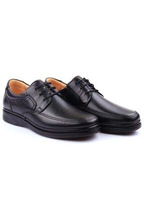 DETECTOR Iç Dış Hakiki Deri Ultra Ortopedik Büyük Numara Günlük Erkek Ayakkabı 701-10 1