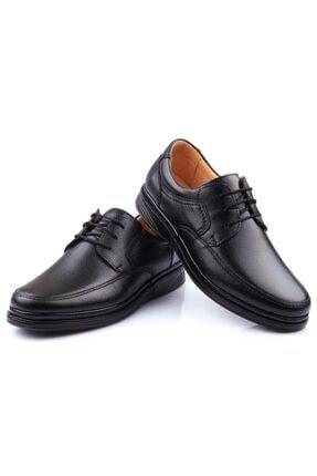 DETECTOR Iç Dış Hakiki Deri Ultra Ortopedik Büyük Numara Günlük Erkek Ayakkabı 701-10 2