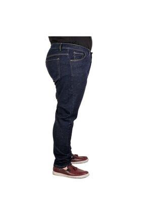 Modexl Büyük Beden Erkek Pantolon Kot 20903 Lacivert 2