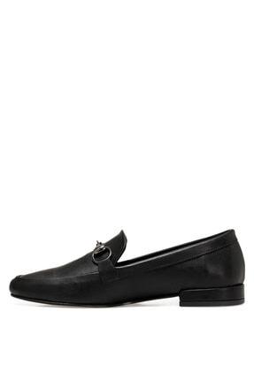 Nine West Suela2 Siyah Kadın Loafer Ayakkabı 3