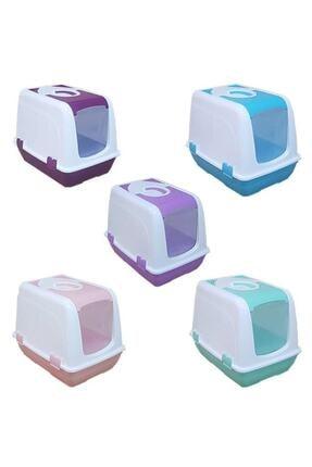 Şenyayla Plastik Kapalı Kedi Tuvaleti (Üstten Açılır) 0
