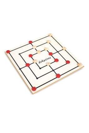 BEMİ Teda Lüks Ahşap 5 Oyun 1 Arada - Beceri Eğitici Zeka Strateji Çocuk Ve Aile Oyunu 4