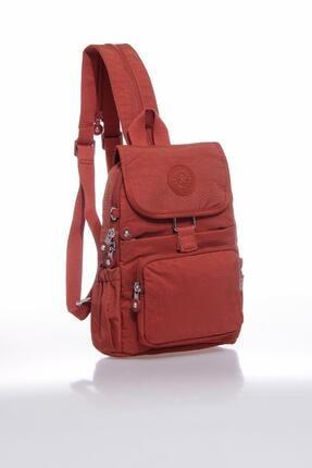 Smart Bags Kadın Kiremit Rengi Sırt Çantası 1