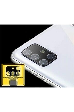 Ally Mobile Sm Galaxy A51 Hd 3d Full Tempered Cam Kamera Koruyucu - Siyah 1