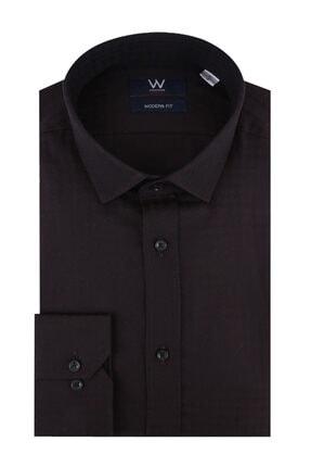 W Collection Jakarlı Klasik Gömlek 0