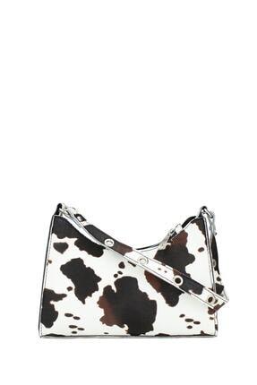 Housebags Kadın Kahverengi Baguette Çanta 195 3
