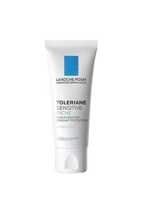 La Roche Posay Toleriane Sensitive Riche 40 ml | Kuru Ciltler Için Nemlendirici 0