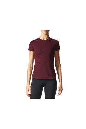 adidas Kadın Tişörtü Kırmızı Prime Tee Bk2702 0