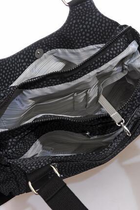 Smart Bags Kadın Siyah Puantiyeli Omuz Çantası Smbk1163-0091 3