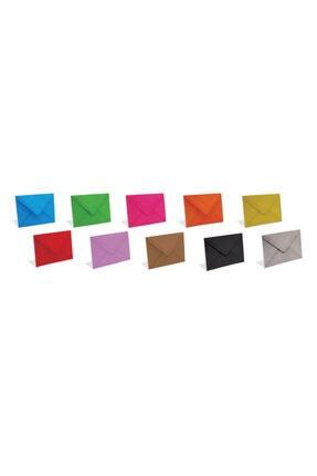 Zarfsan Davetiye Zarfı Renkli 13x18 Cm 90 gr 1.hamur 25 Adet 0
