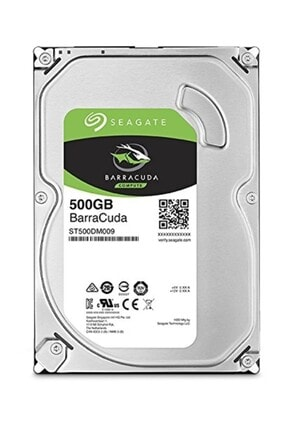 """Seagate Barracuda 500gb 3.5"""" 7200rpm 32mb Sata 3.0 Ncq Sabit Disk St500dm009 0"""