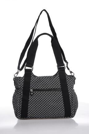 Smart Bags Kadın Siyah Beyaz Omuz Çantası Smbk1163-0127 2