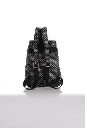 Smart Bags Kadın Siyah Beyaz Sırt Çantası Smbk1138-0127 2