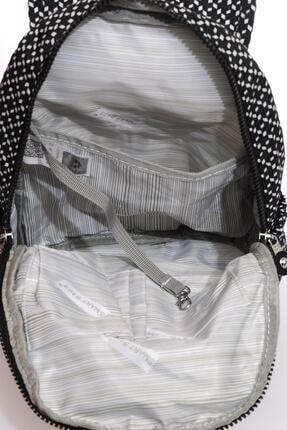 Smart Bags Kadın Siyah Beyaz Sırt Çantası Smbk1138-0127 3