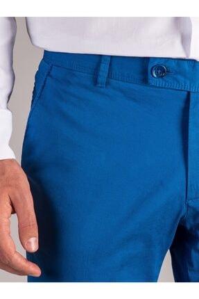 Dufy Saks Düz Ribana Örgü Erkek Pantolon - Slım Fıt 1