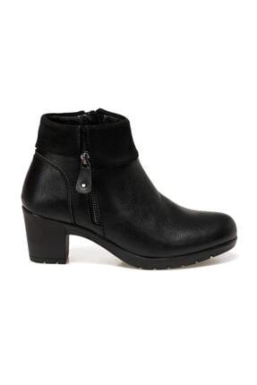 Polaris 161376.Z Siyah Kadın Topuklu Bot 100548456 1