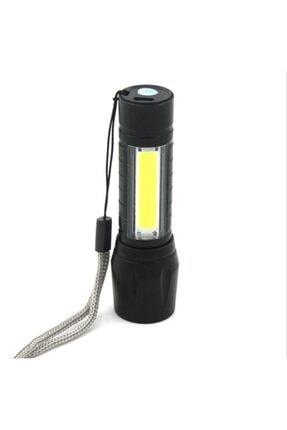 gaman Pt-4140 3 Mod Şarjlı 3 Watt 600 Lümen Süper Parlak Cob Zoomlu  Led El Feneri 0