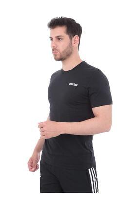 adidas Erkek Siyah Essentials Plain Tişört Ss19 1