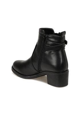 Polaris Kadın Siyah Topuklu Bot 2