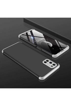 Teknoloji Adım A52 Sert Silikon Kıl��f Siyah/gri 0