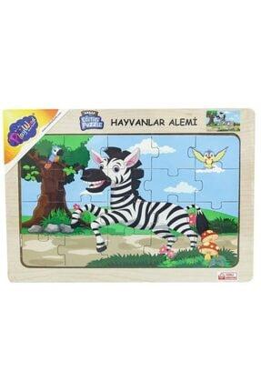 ONYIL Ahşap Hayvanlar Alemi Puzzle 1