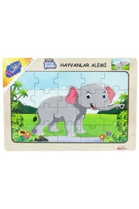 ONYIL Ahşap Hayvanlar Alemi Puzzle 3