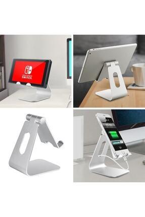 Techmaster Metal Telefon Tablet Stand Masaüstü Ayarlanabilir Dock Standı 2
