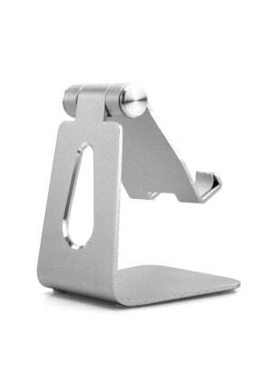 Techmaster Metal Telefon Tablet Stand Masaüstü Ayarlanabilir Dock Standı 3