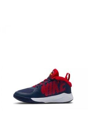 Nike Team Hustle D 9 Unisex Mavi Basketbol Ayakkabısı 1