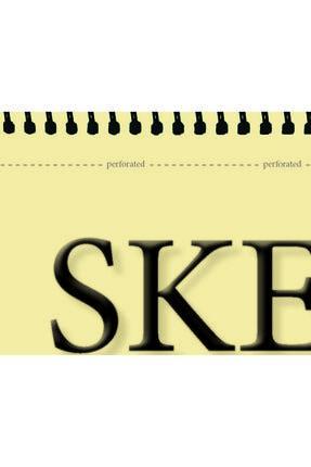 Etika Eskiz Defteri 90 gr A4 50 Yaprak Spiralli Ivory Sketchbook 1
