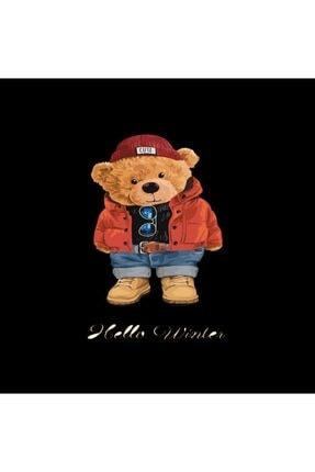 Teddies&Puppies Unisex Çocuk Mia Festa Exclusive Hello Winter Ayıcıklı T-shirt 1