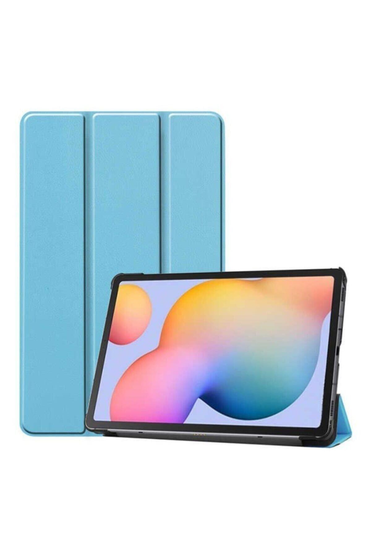Galaxy Tab S6 Lite P610 Smart Cover Standlı 1-1 Kılıf