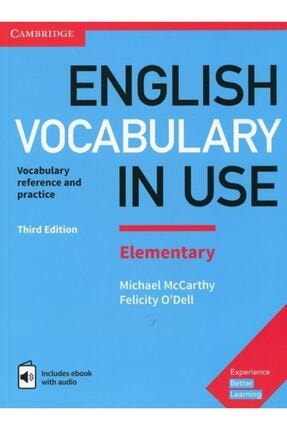 Cambridge University Press English Vocabulary In Use + Cd Full Set 4 Lü Paket 1