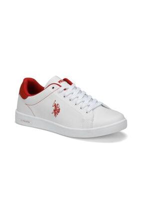 US Polo Assn Kadın Beyaz Steve 9pr Sneaker 0