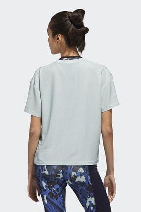 adidas Kadın Beyaz Günlük Giyim T-shirt W U-4-u Tee Gg3419 2