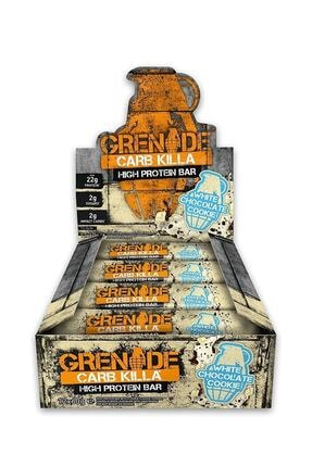 Grenade Carb Killa Protein Bar 60 G 12 Adet - Beyaz Çikolata-kurabiye 5060221201827 0