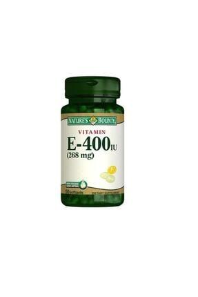 Natures Bounty Vitamin E 400 Iu Pure D-alpha 50 Kapsül 0