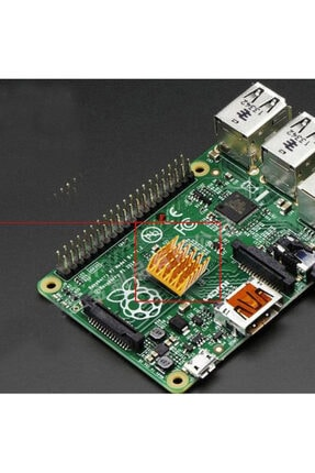 WOZLO Chipset Cpu Gpu Vga Ram Led Ic 15x15x6mm Aliminyum Soğutucu 3