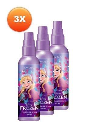 Avon Disney Frozen Kız Çocuk Vücut Spreyi Üçlü Set 0