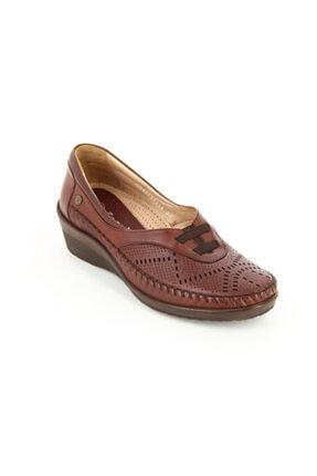 تصویر از 26214-g Kadın Deri Günlük Ayakkabı
