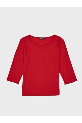 LC Waikiki Kadın Canlı Kırmızı  Tişört 2