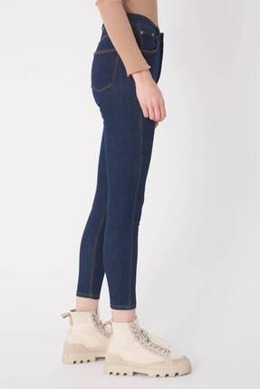 Addax Kadın Koyu Kot Rengi Cep Detaylı Jean Pantolon Pn6435 - Pnt ADX-0000020869 2